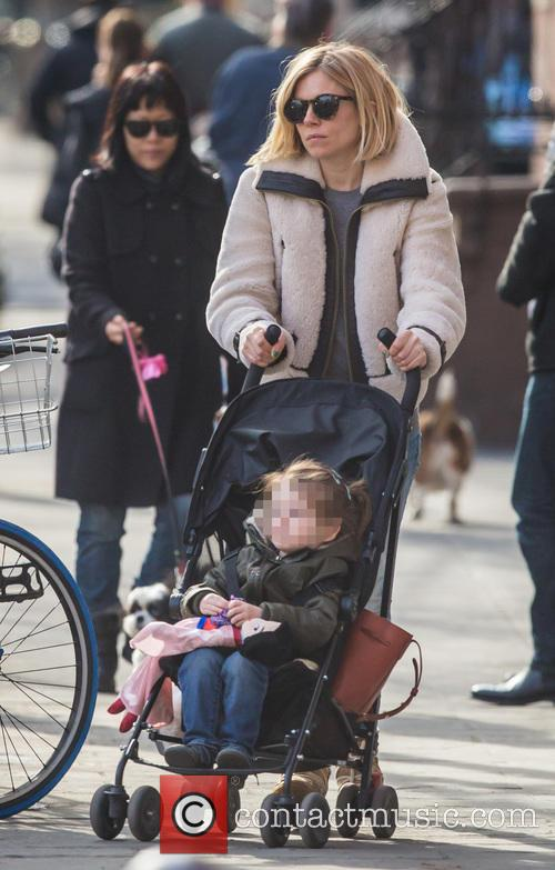 Sienna Miller and Marlowe Sturridge 1