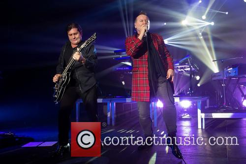 Charlie Burchill and Jim Kerr 1