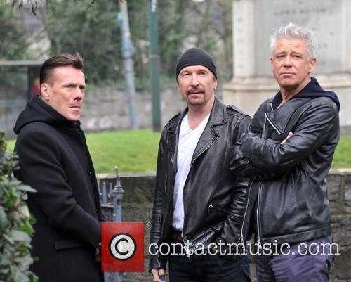 Larry Mullen, Edge and Adam Clayton 5