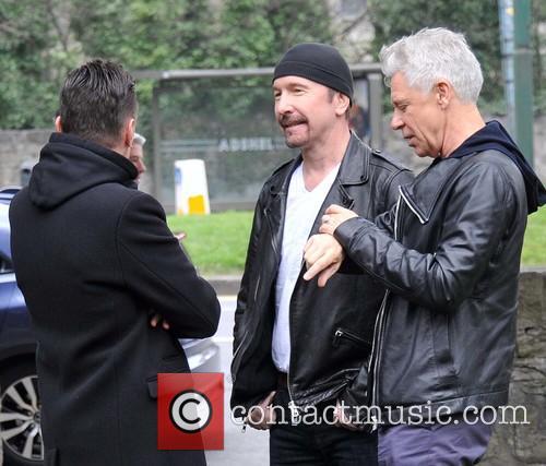 Larry Mullen, Edge and Adam Clayton 8