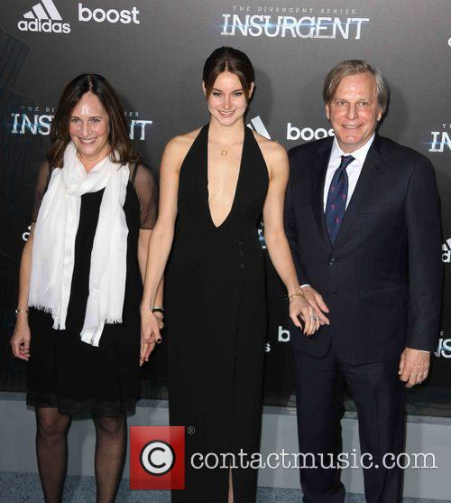 Lucy Fisher, Shailene Woodley and Douglas Wick 2