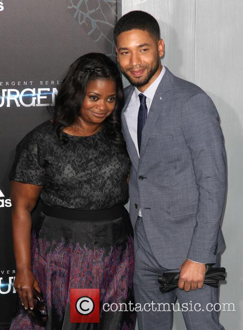 Octavia Spencer and Jussie Smollett 2