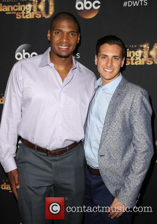 Michael Sam and Vito Cammisan 1