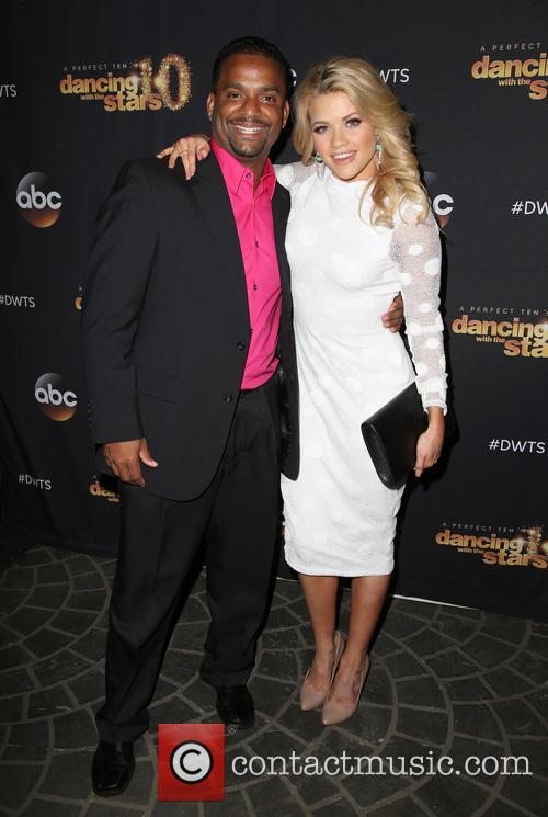Alfonso Ribeiro and Witney Carson 8