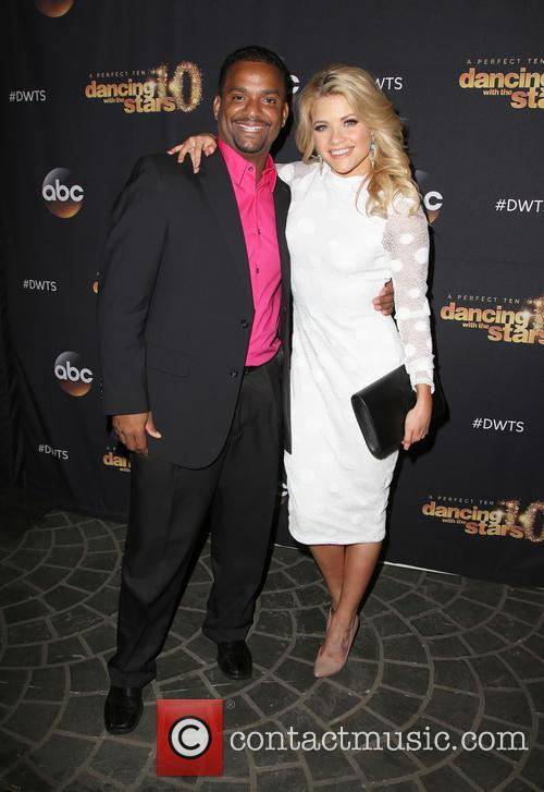 Alfonso Ribeiro and Witney Carson 9