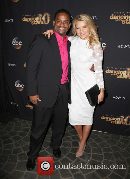 Alfonso Ribeiro and Witney Carson 10