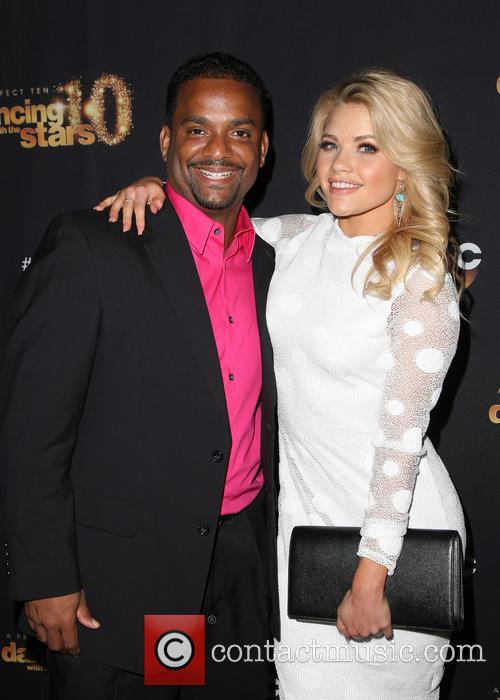 Alfonso Ribeiro and Witney Carson 11