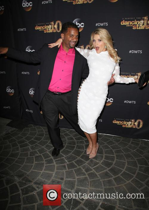 Alfonso Ribeiro and Witney Carson 1