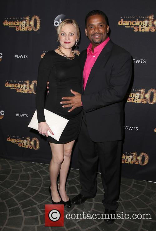 Angela Unkrich and Alfonso Ribeiro 2