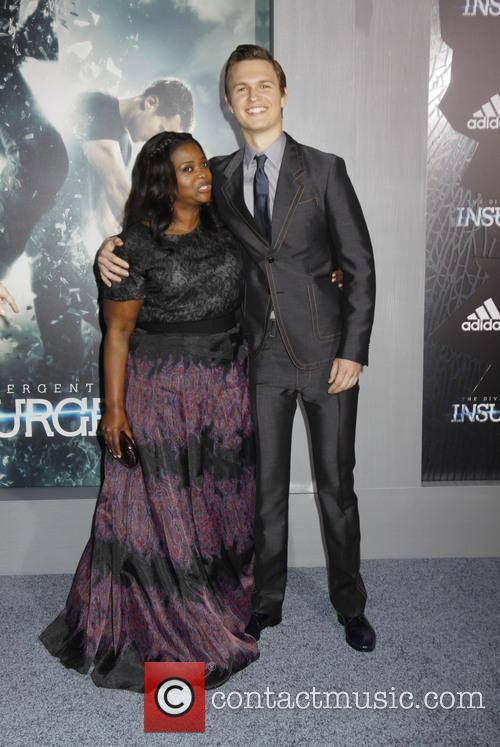 Octavia Spencer and Ansel Elgort 3
