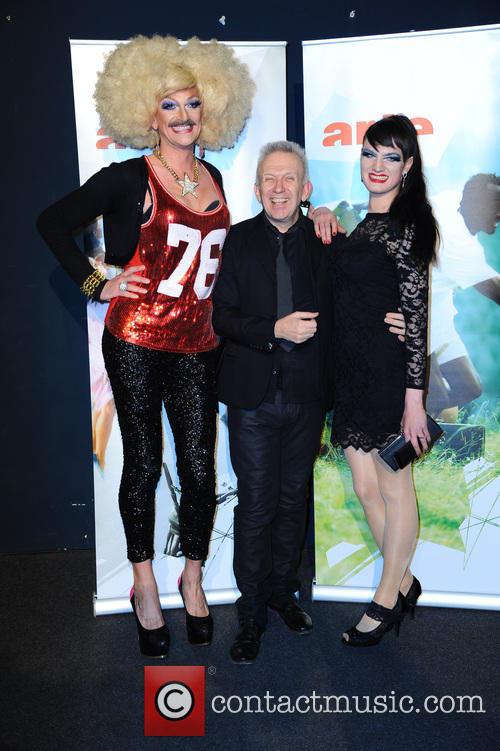 Gloria Viagra, Jean-paul Gaultier and Jacky O Winhouse 2