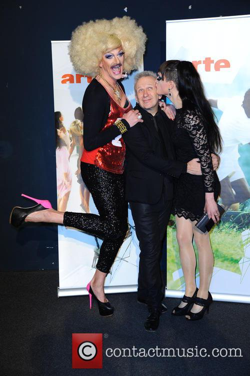 Gloria Viagra, Jean-paul Gaultier and Jacky O Winhouse 5