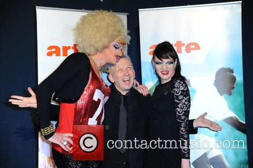 Gloria Viagra, Jean-paul Gaultier and Jacky O Winhouse 1