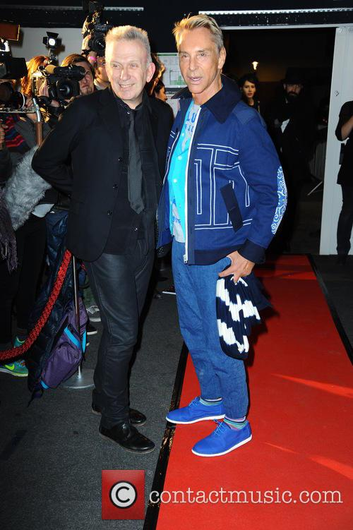 Jean Paul Gaultier and Wolfgang Joop