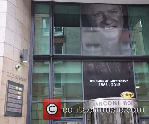 Tony Fenton Tribute At Todayfm Studios 3