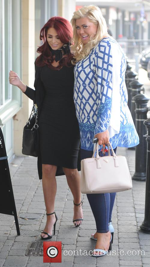 Amy Childs and Gemma Collins 10