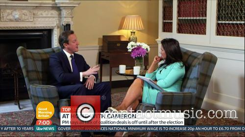 David Cameron and Susanna Reid 2