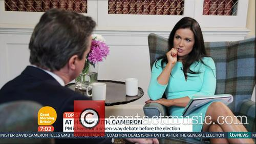 David Cameron and Susanna Reid 7