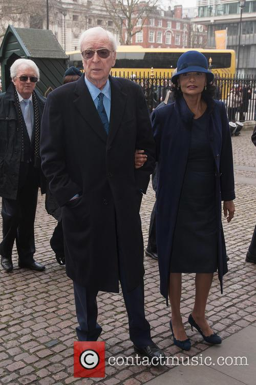 Sir Michael Caine and Shakira Caine 3