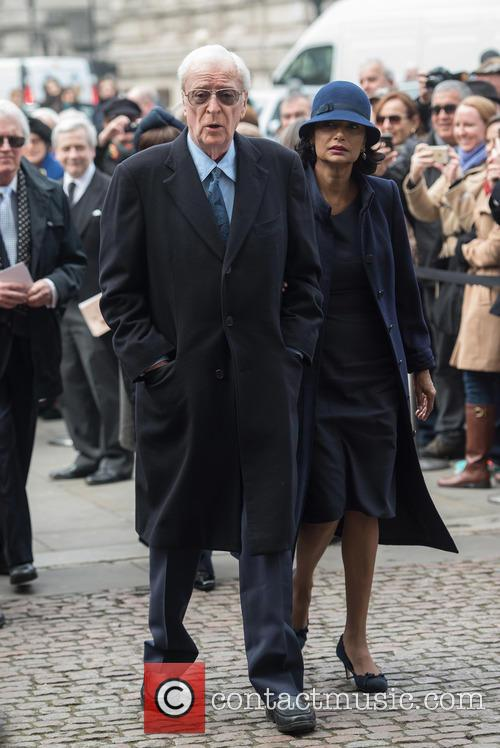 Sir Michael Caine and Shakira Caine 1