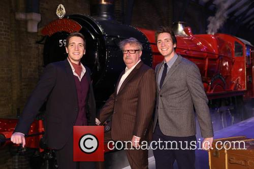 James Phelps, Oliver Phelps and Mark Williams 8