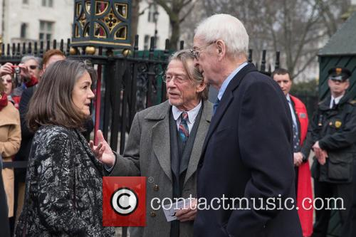 Sir Michael Caine and Sir John Hurt