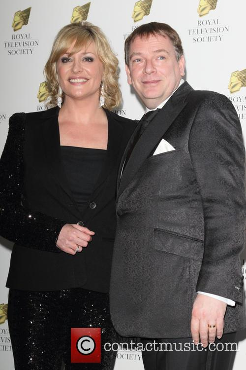Laurie Brett and Adam Woodyatt
