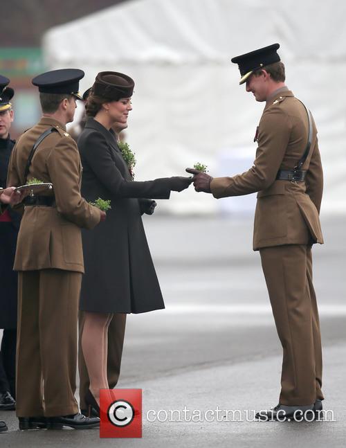 St Patrick's Day parade at Mons Barracks