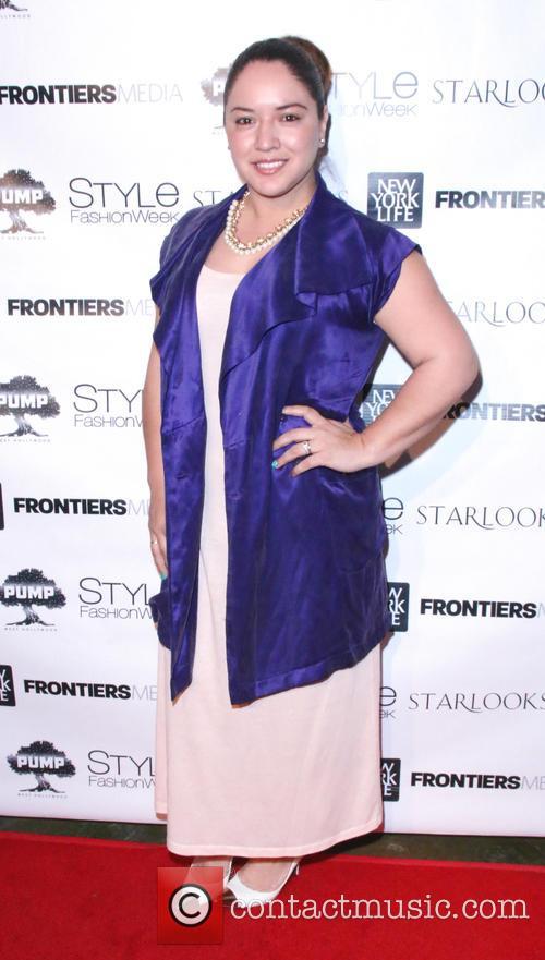 Cyn Najares 2015 Lafw Style Fashion Week Kick Off