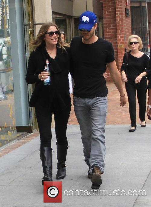 Chad Michael Murray and his pregnant wife go...