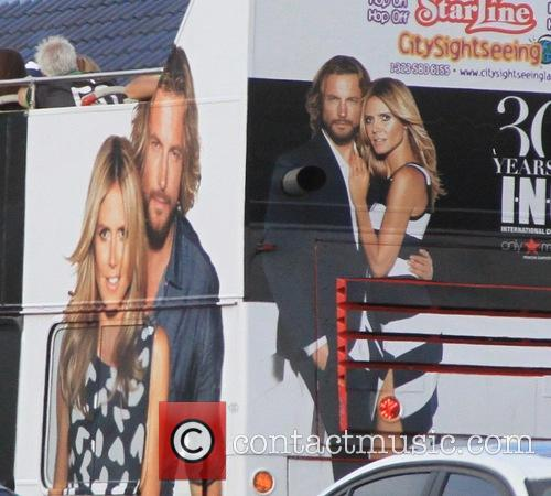 Heidi Klum, Gabriel Aubry's and Starline Tour 3