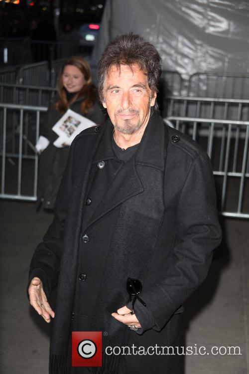 Al Pacino at 'Danny Collins' New York premiere