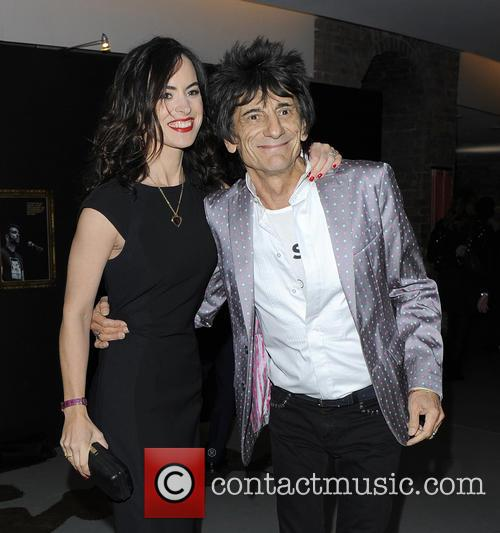 Sally Wood and Ronnie Wood 2