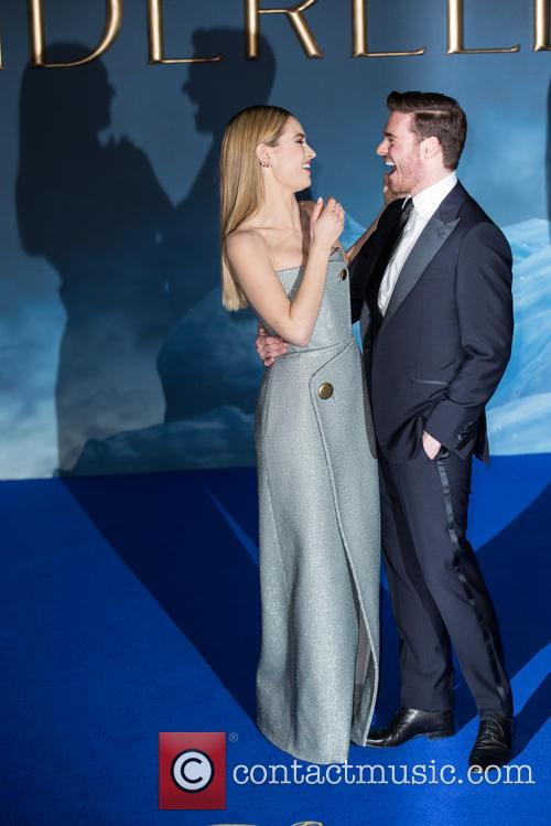 Lily James and Richard Madden