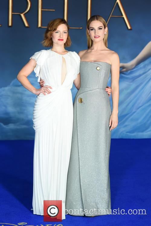 Holliday Grainger and Lily James 5