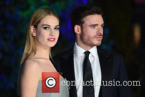 Richard Madden and Lily James 8