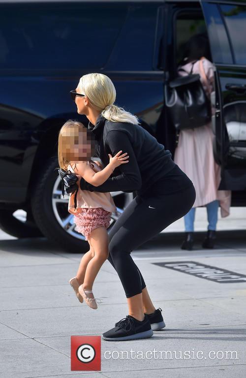 Penelope Disick and Kim Kardashian 2