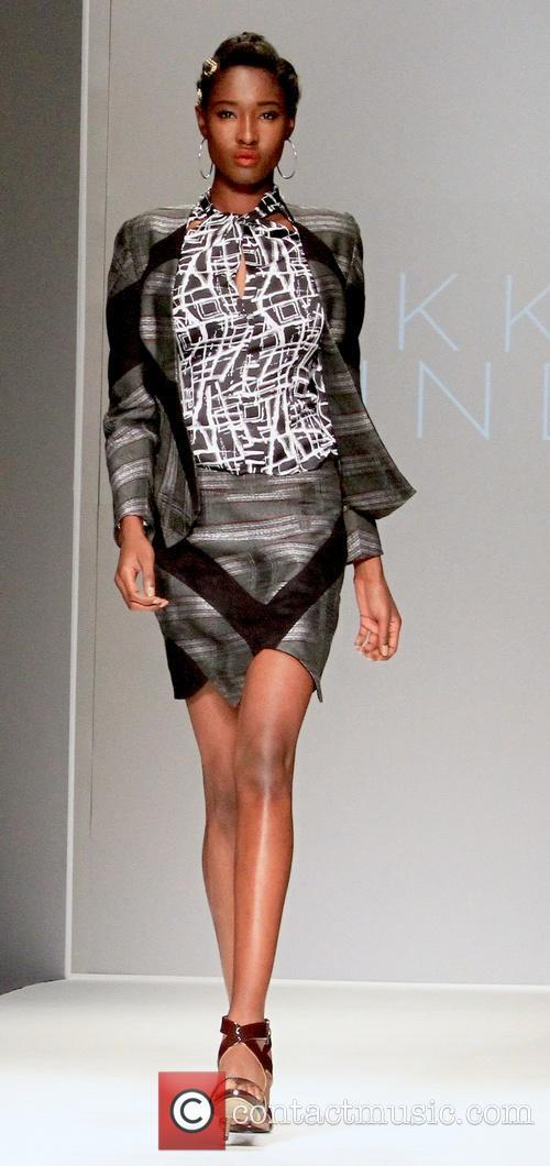 Nikki Lund Style Fashion Week L A Fall Winter 2015