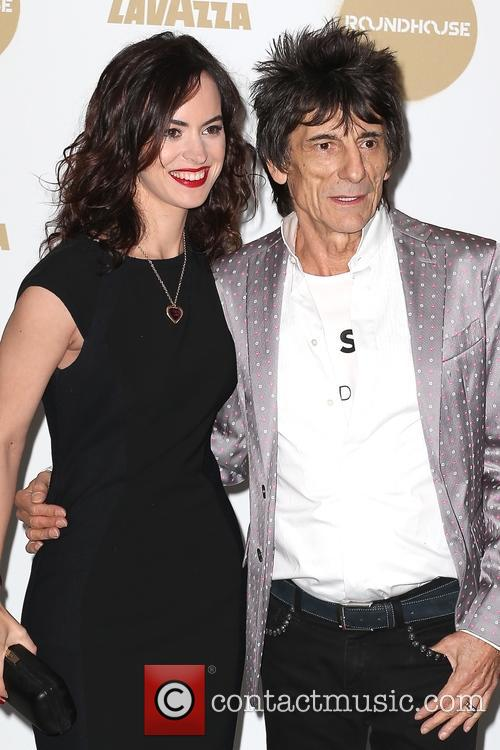 Sally Wood and Ronnie Wood 5