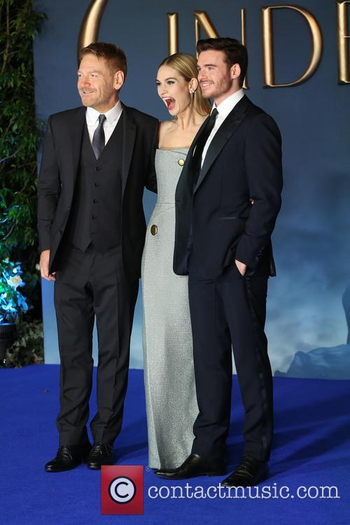Kenneth Branagh, Lily James and Richard Madden 3