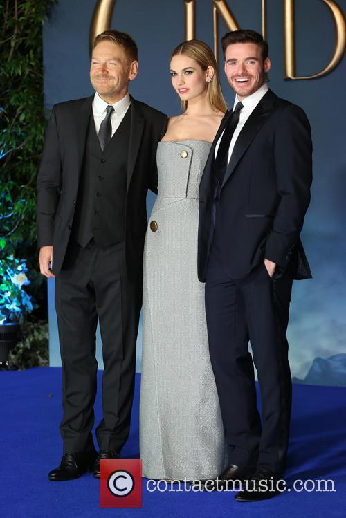 Kenneth Branagh, Lily James and Richard Madden 4
