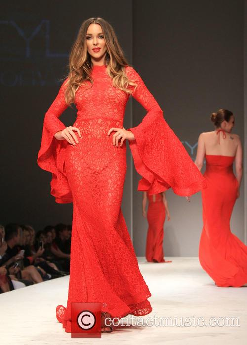 Courtney Sixx Style Fashion Week L A Fall Winter 2015 Go Red Runway 3 Pictures