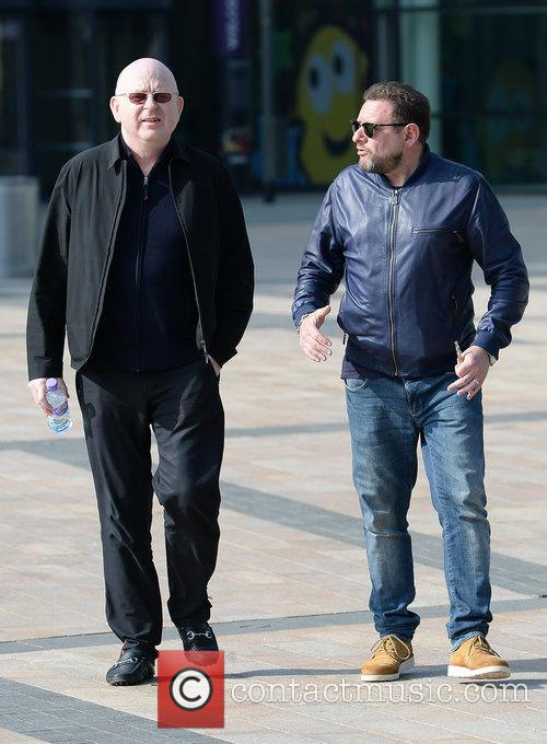 Shaun Ryder and Alan Mcgee 2