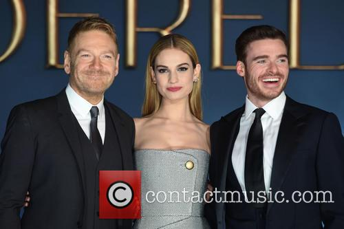 Sir Kenneth Branagh, Lily James and Richard Madden 4