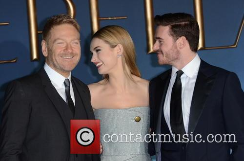 Kenneth Branah, Lily James and Richard Madden 1