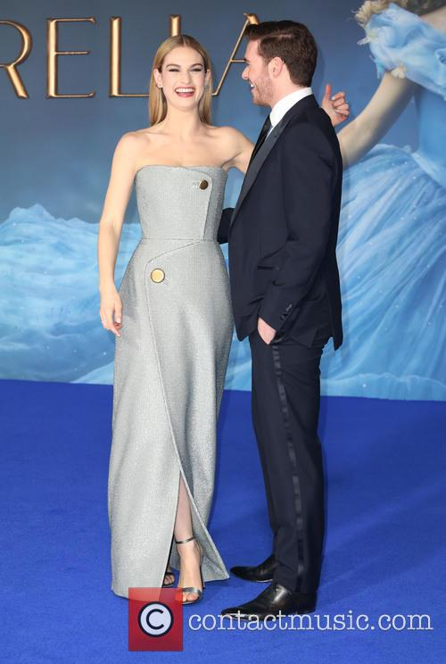 Lily James and Richard Madden 8