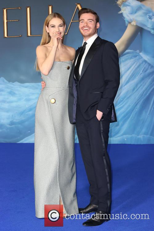 Lily James and Richard Madden 10