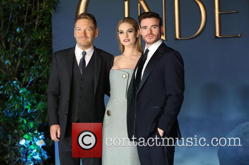 Kenneth Branagh, Lily James and Richard Madden 8