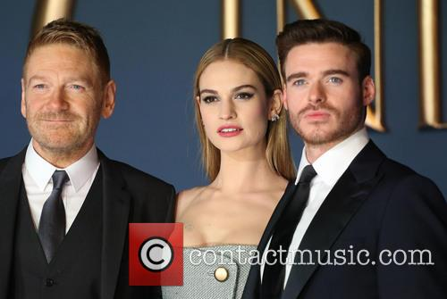 Kenneth Branagh, Lily James and Richard Madden 1