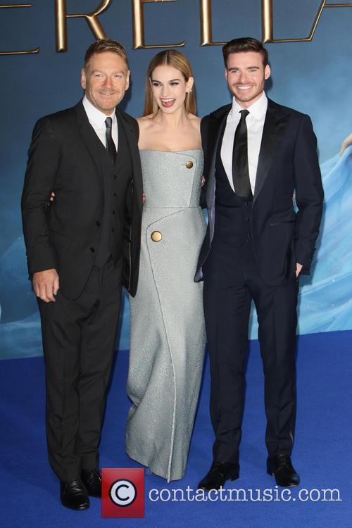 Kenneth Branagh, Lily James and Richard Madden 2